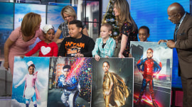 Kids battling serious diseases turn into superheroes they created themselves