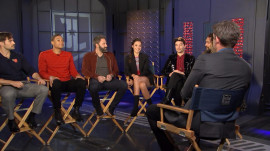 'Justice League' cast talks new film and what it's like being idolized by kids