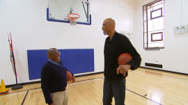Kareem Abdul-Jabbar tells Al Roker about his new book for young readers