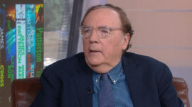 James Patterson tells KLG and Hoda about his new book