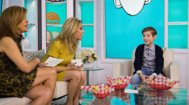 11-year-old actor Jacob Tremblay talks about his new film 'Wonder'