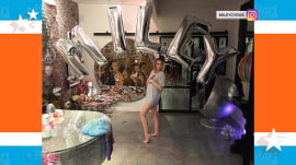 Miley Cyrus celebrates birthday during Thanksgiving