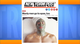 Is it unmanly for men to go to spas? TODAY anchors say…