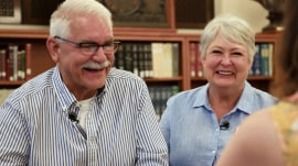 Special Alzheimer's program helps couple deal with the disease