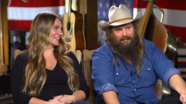 Chris Stapleton 'laughed for about 20 minutes' after learning he was having twins