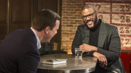 Tyler Perry remembers working up the courage to ask Oprah for an autograph