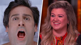Why Kelly Clarkson feels 'gypped' by that famous scene in 'The 40-Year-Old Virgin'