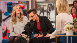 Goodbye, Charlie: Our puppy gets a fond farewell on Megyn Kelly TODAY