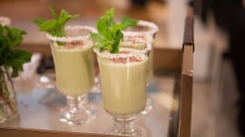 How to make holiday cocktails: Chocolate mint eggnog and more