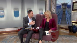 Jeff Rossen shows Megyn Kelly (and you) how to overcome fear of flying