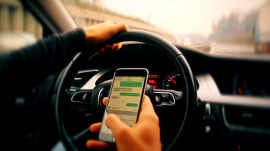 Timely Christmas travel warning: Don't text and drive