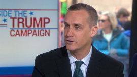 Corey Lewandowski: Trump 'never sat down for a meal' during campaign