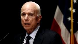 John McCain will miss crucial Republican tax bill vote