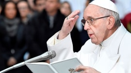 Pope Francis suggests changing words in the 'Lord's Prayer'