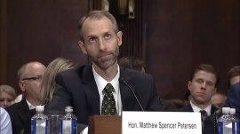 Trump judicial nominee Matthew Petersen struggles answering legal questions