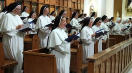 Singing nuns release chart-topping Christmas tunes