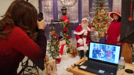 Photographer helps create holiday moments for families in need