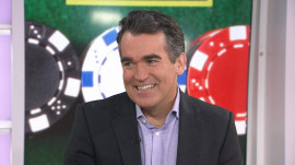 Brian d'Arcy James talks about poker and his new film 'Molly's Game'