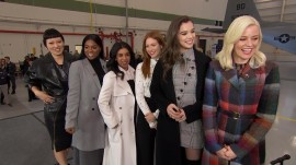 Stars of 'Pitch Perfect 3' celebrate US troops with Al Roker