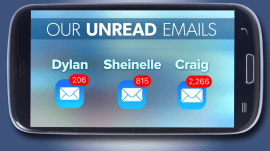 Unread email: How many is too many?