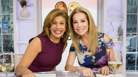 Kathie Lee and Hoda celebrate 'Dressember' for charity