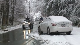 150,000 remain without power after winter storm barrels along East Coast