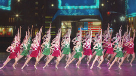 Watch 2 Rockettes reveal their morning routines