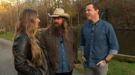 Hear how Chris Stapleton wrote 'Daddy Doesn't Pray Anymore' in 10 minutes