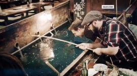 This restaurant lets you fish for your own dinner
