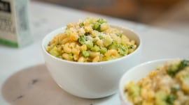 Broccoli with mac and cheese, coconut-power ice cream: Make healthier meals with quick food swaps