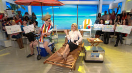 Megyn Kelly audience member wins a sunny getaway to Saint Lucia