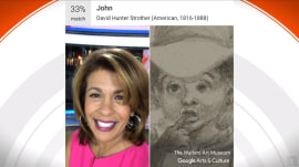 New app finds famous artwork that looks like you (see what Hoda gets!)