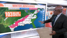 More winter weather set to hit over 100 million people