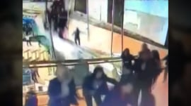 Walkway collapse in Indonesia caught on camera; dozens injured