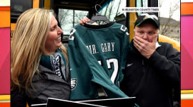 Beloved school bus driver is going  to the Super Bowl