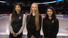 Meet the ladies of the US Olympic figure skating team heading to South Korea