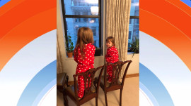 Snow day! Jenna Bush Hager's Mila and Poppy are enthralled