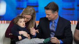 Support pours in about rare medical condition of Richard Engel's son