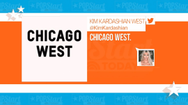 Kim and Kanye name their third baby Chicago West