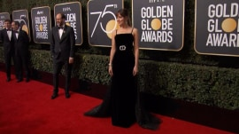 Black dominates fashion on the Golden Globes red carpet