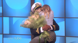 Ellen DeGeneres stages heartwarming military reunion on air