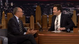 Lester Holt opens up to Jimmy Fallon about grandfatherhood