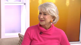 Helen Mirren on new films 'The Leisure Seeker' and 'Winchester'