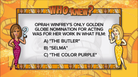 'Who Knew?' about the Golden Globes: Play along with Hoda and Jenna