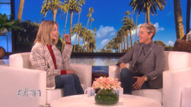 When Margot Robbie met Ellen DeGeneres