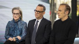 Meryl Streep, Tom Hanks and Bob Odenkirk talk about 'The Post'