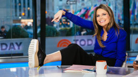 Savannah Guthrie's platform shoes draw mixed reviews