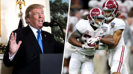 What's next: Trump gets a physical, Georgia and Alabama face off in college football championship
