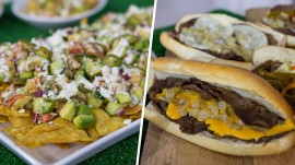 Lobster nachos vs. Philly cheesesteak in Super Bowl culinary cook-off