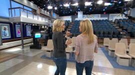 Kathie Lee and Jenna learn secrets of Megyn Kelly's studio